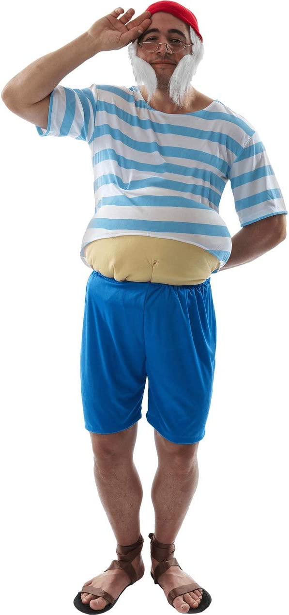 ORION COSTUMES Adult Tubby Pirate Costume: Amazon.es: Ropa y ...