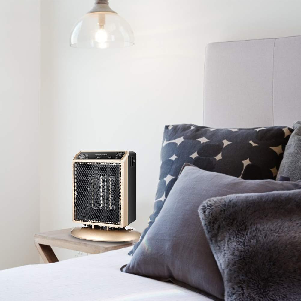 Radiateur soufflant en c/éramique avec protection contre la surchauffe 400 W maison 900 W Puissance de chauffage /électrique portable 2 modes de chauffage pour bureau salle de bain