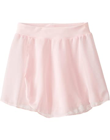 614bba11ec Capezio Girls' Tactel Collection Pull-On Skirt