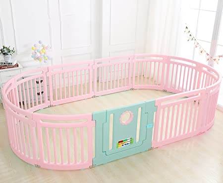 Safety Gates Baby Playpen 12 Plastic Panels Including Fun Activity