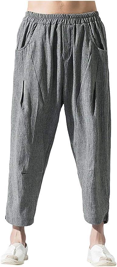 Pantalones Hombre Negros Largos Pantalones Hombre Talla 60 ...