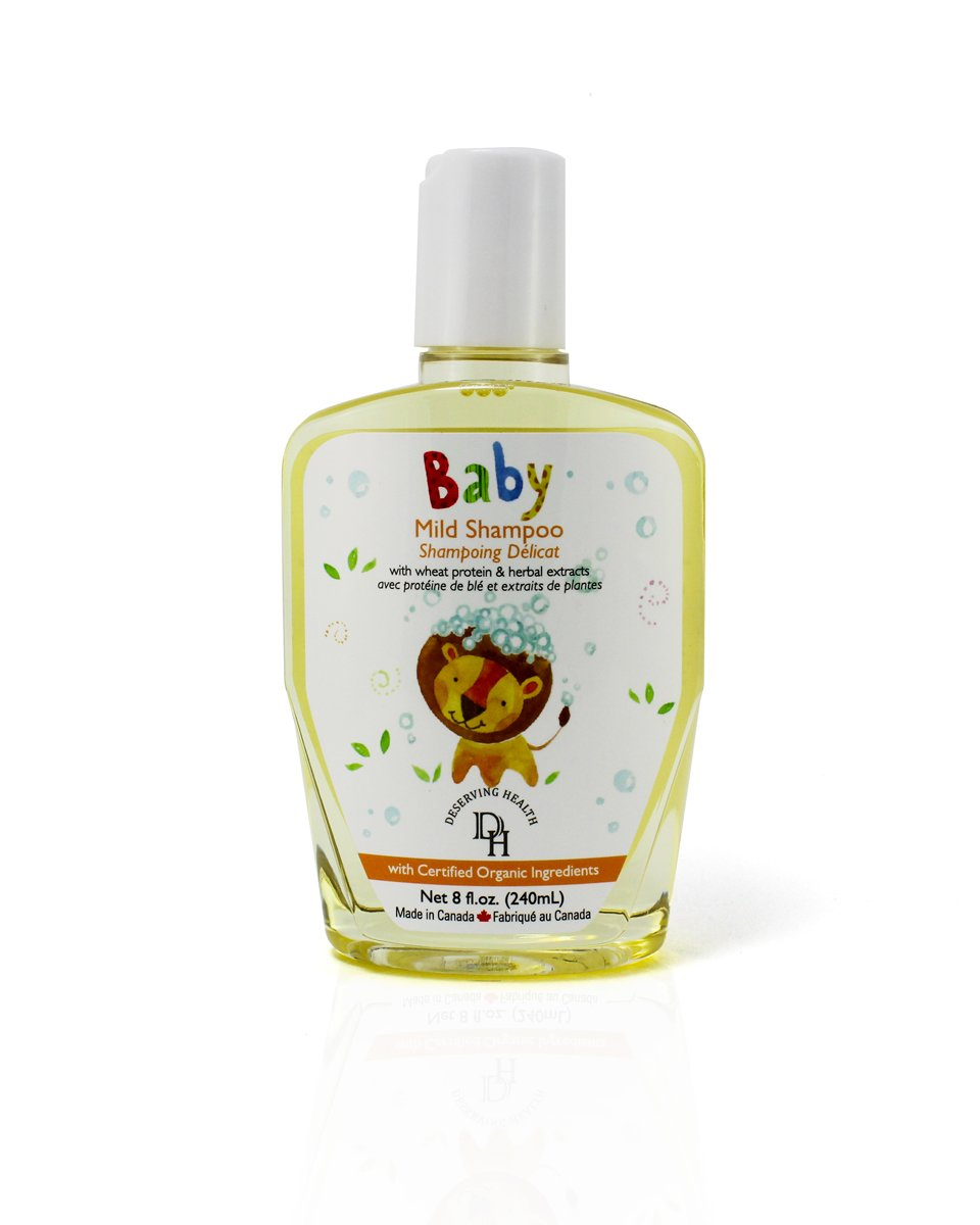 Deserving Health Organicbaby Mild Shampoo, 8.1 Ounce