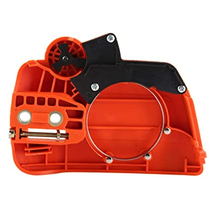 Amazon com: Clutch Sprocket Cover Chain Brake Assembly Fits