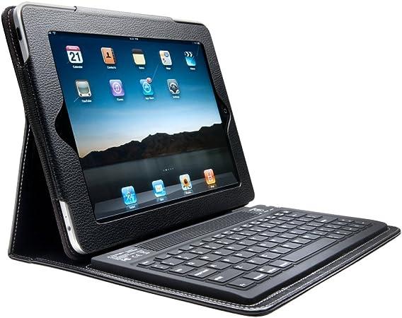 Kensington K39336ES - Funda para Tablet Apple iPad, iPad 2, iPad 3 (Teclado inalámbrico Bluetooth), Negro
