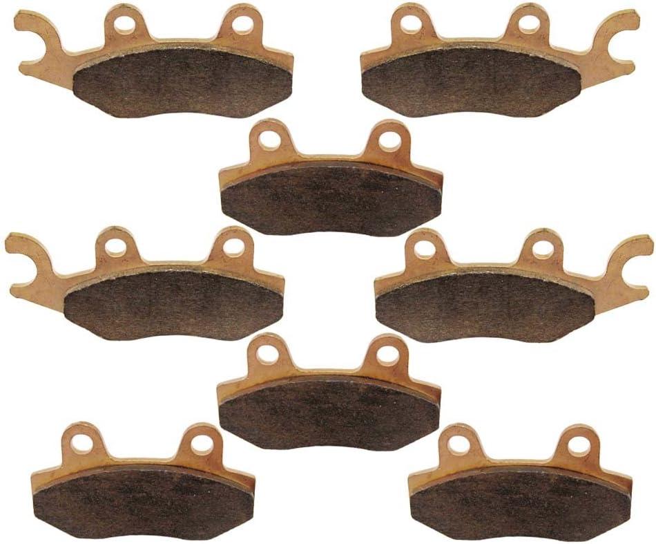 FRONT MIDDLE REAR BRAKE PADS FIT YAMAHA RHINO 700 FI YXR700 YXR 700 2008-2013