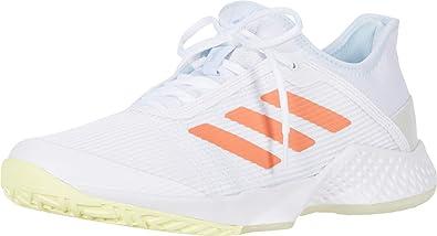 adidas Adizero Club w Tenis para mujer, blanco (Blanco/ámbar ...