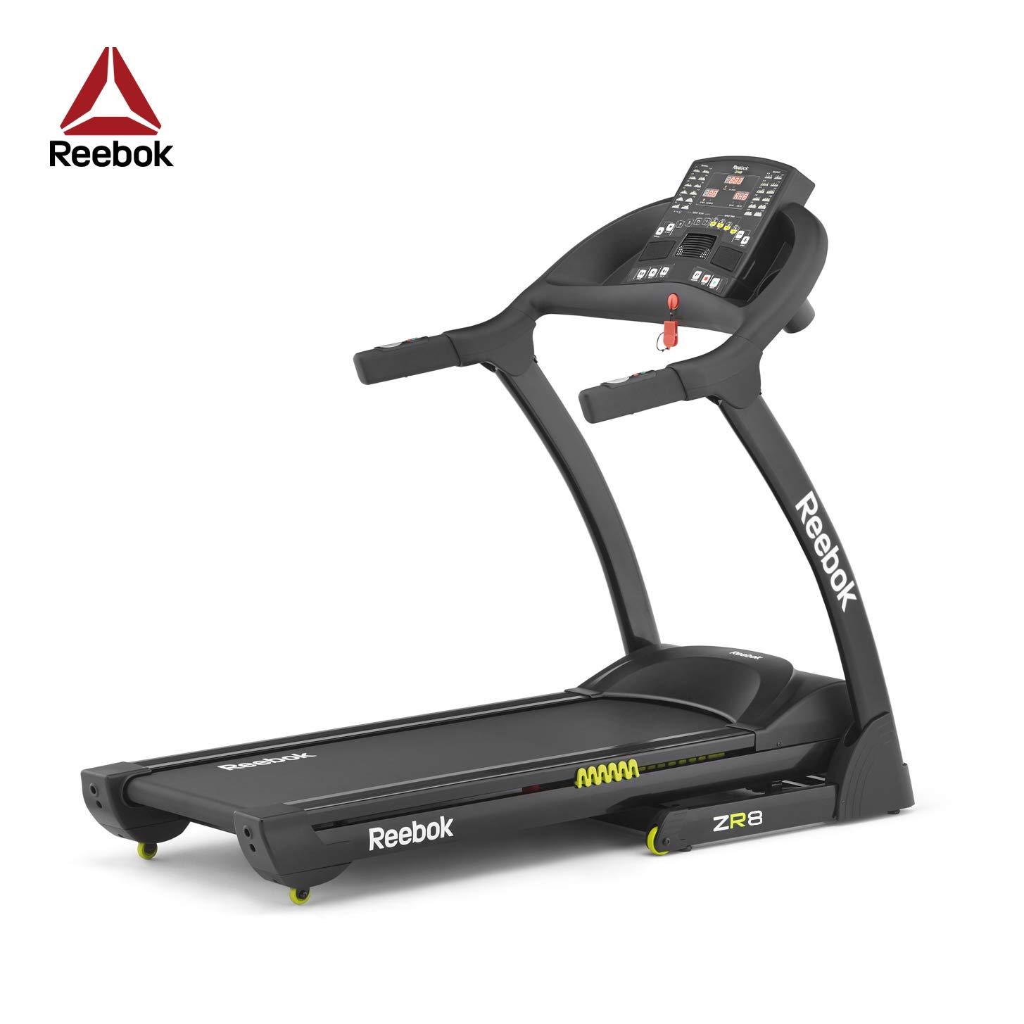 Reebok Zr8 Compact Treadmill Black Amazon Sports Outdoors