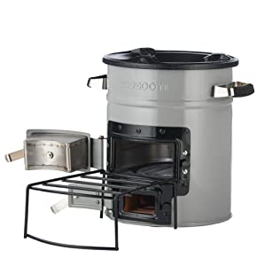 EcoZoom Versa Rocket Survival Stove - Portable Wood Burning, Biomass and Charcoal Camp Stove for Camping, Outdoor and RV