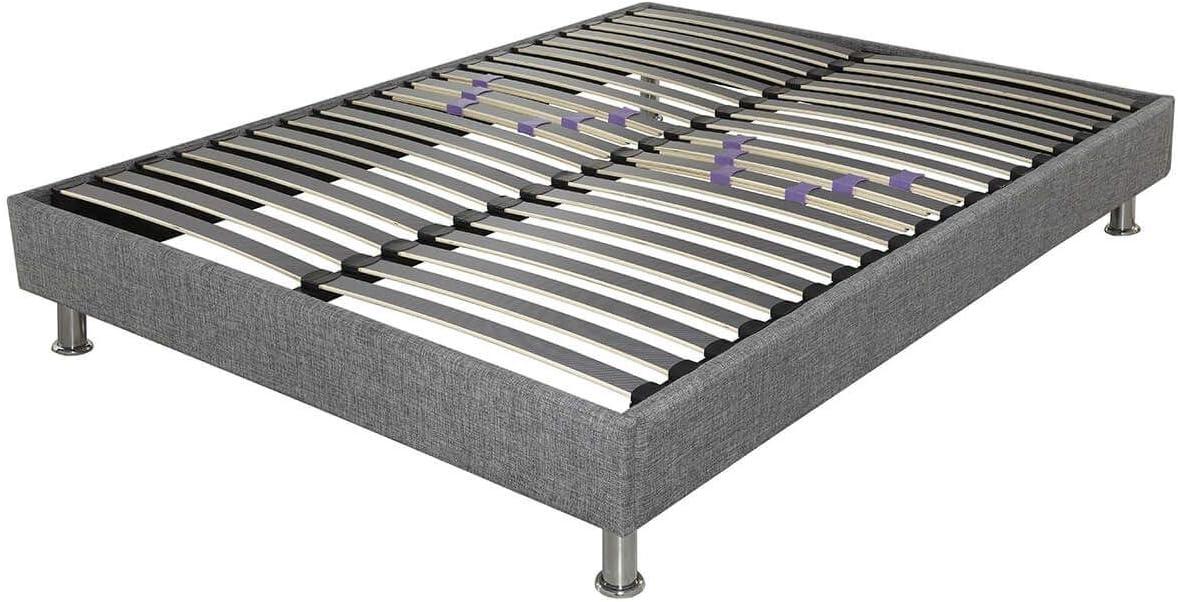 AltoZen - Somier desmontable 140 x 190 cm, color gris ...