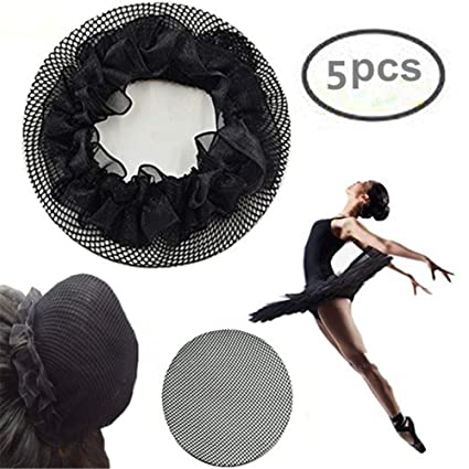 Image Unavailable. Image not available for. Color  KKTech Women Ballet Dance  Skating Bun Cover Elastic Band Hair ... 5a4363ed7a09