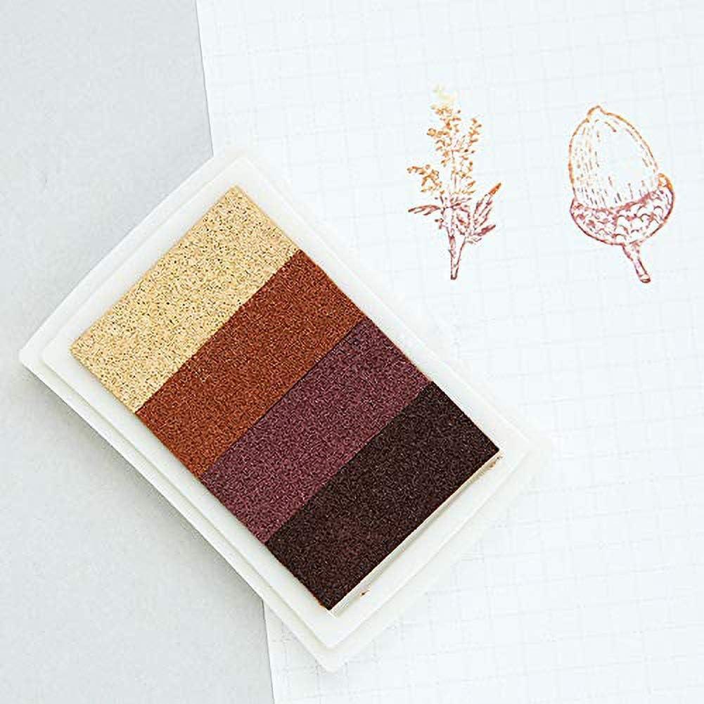 Material sint/ético Multicolor Ranger Juego de Almohadillas de Tinta de estampaci/ón 1 20.3 x 8.3 x 1.8 cm