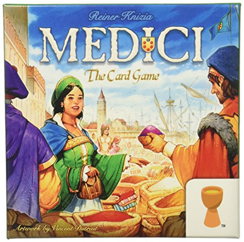 Medici Collection - Grail Games Medici: the Card Game Strategy Board