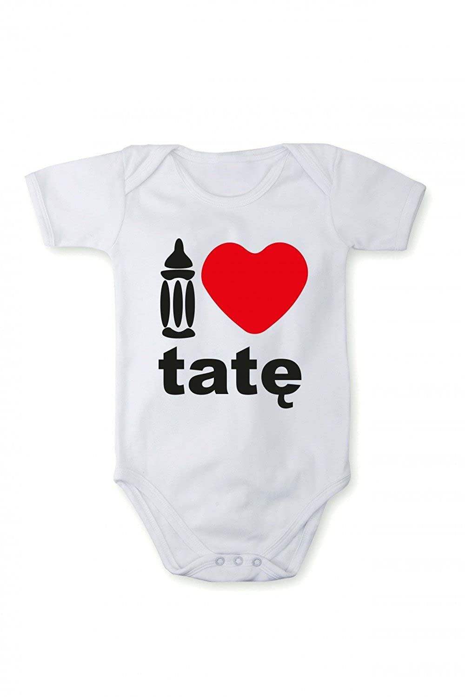 Romper baby bodysuit I love Dad In different languages