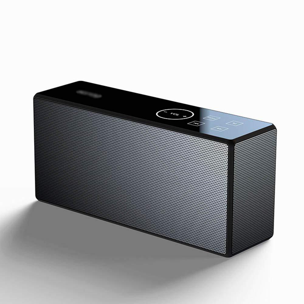Bluetoothスピーカー、超低音、ダブルスピーカー、タッチ操作、Bluetooth 4.2、すべての種類の主流デバイスとの互換性、長いバッテリー寿命   B07KHZV49P