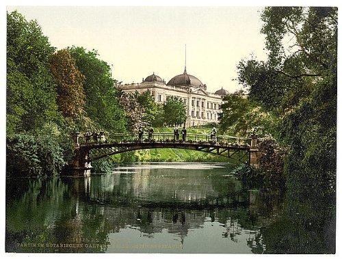 HistoricalFindings Photo: Gardens,Director of Customs Building,Hamburg,Germany