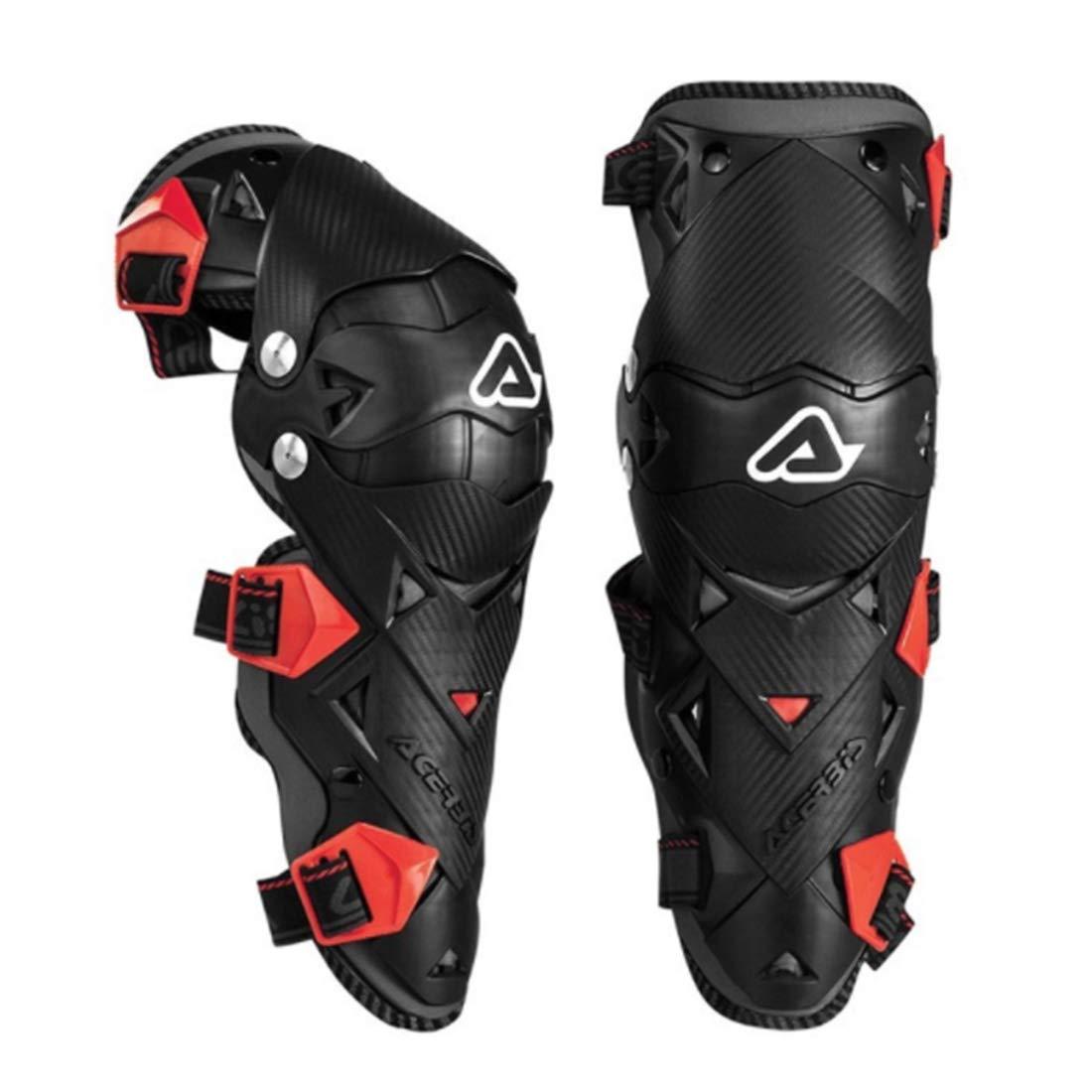 UICICI Motorrad Knieschützer Outdoor-Reiten Anti-Fall-Schutzausrüstung Motocross Radfahren Protector Guard Rüstungen Set für Radfahren Skating Skifahren Reiten