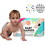 Parasol Plush Baby Diaper - Delight Collection - Size 3 (16-28 lbs) 50 Count - Soft, Absorbent, Eco-friendly, Perfect Fit