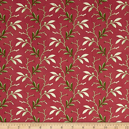 Fabric Traditions Verna Mosquera Autumn Grace Berry Vine Pink Lady Yard