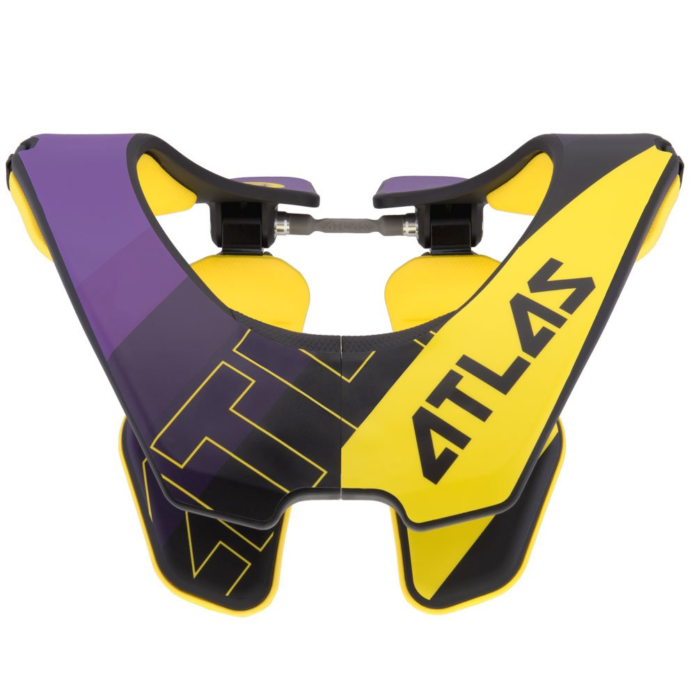 Atlas Brace Technologies Air Brace, 2017 Unisex-Adult (Yellow, Large) (Baller Yellow) by Atlas Brace Technologies