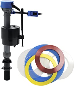 Fluidmaster 400CARSP5 PerforMAX High Performance Toilet Fill Valve and Specialty Seals Repair Kit