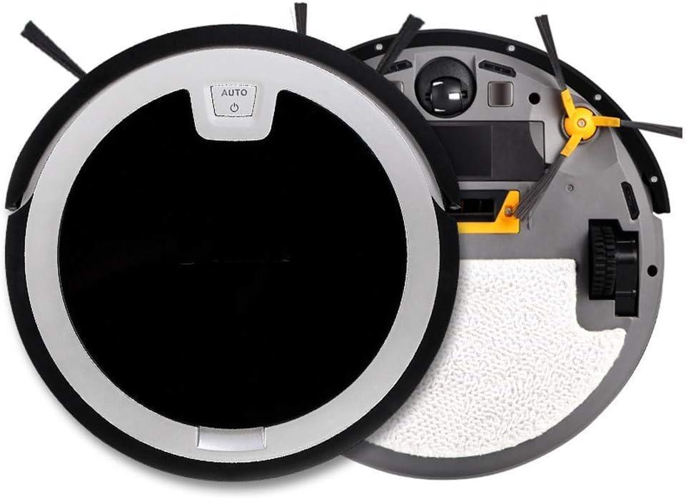 SEESEE.U Robot de Nettoyage Ultra-Mince aspirateur Automatique Robot de Balayage de Machine Portable, (Couleur: Noir) Black