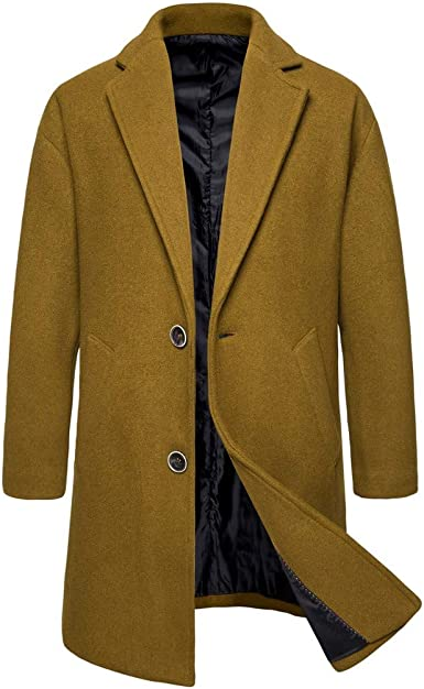 Chaqueta De Hombre Casual Trench Coat Fashion Business Chaquetas ...