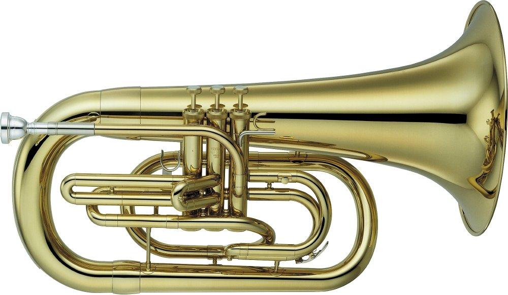 Yamaha YEP-202M Series Marching Bb Euphonium Lacquer