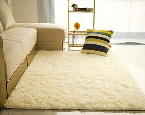 Tappeti Soggiorno Moderno : Liveinu tappeto shaggy rettangolo tappeti soggiorno pelo lungo