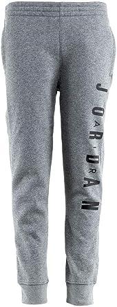 recluta neumático ganado  Amazon.com: Nike Air Jordan Jumpman - Pantalones de chándal para niño  (talla L), color gris y negro: Clothing