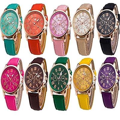 (10 PACKS) Wholesale 10 Assorted Quartz Watch