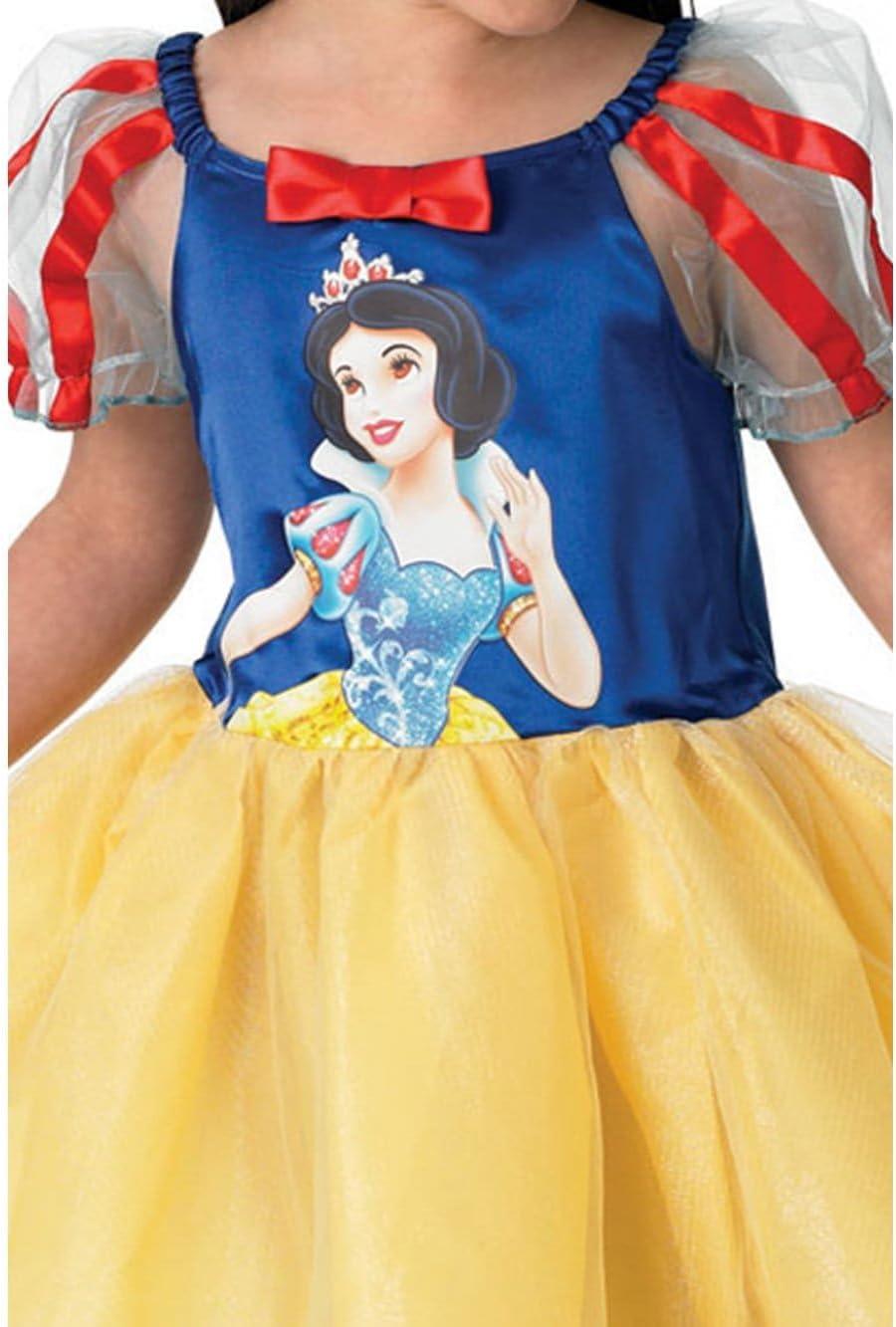 Rubies - Disfraz Infantil de Bailarina con diseño de Blancanieves ...