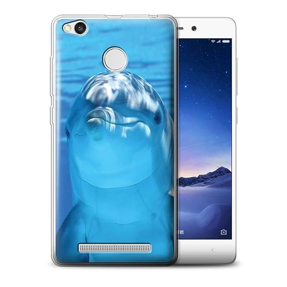new concept 94562 c0816 Amazon.com: STUFF4 Gel TPU Phone Case/Cover for Xiaomi Redmi 3S ...