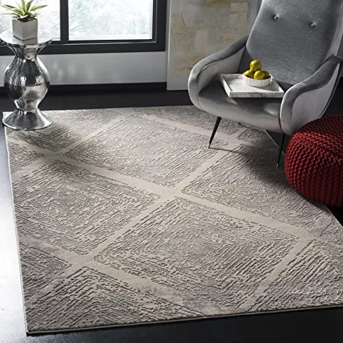 Safavieh Meadow Collection MDW344E Area Rug, 5 3 x 7 6 , Taupe