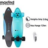 Amazon.com: Maxfind MAX C Penny - Monopatín eléctrico (negro ...