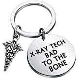 LQRI Radiology Keychain Radiology Technologist Gift It's What's Inside That Counts Radiology Tech Jewelry Gift for Radiograph