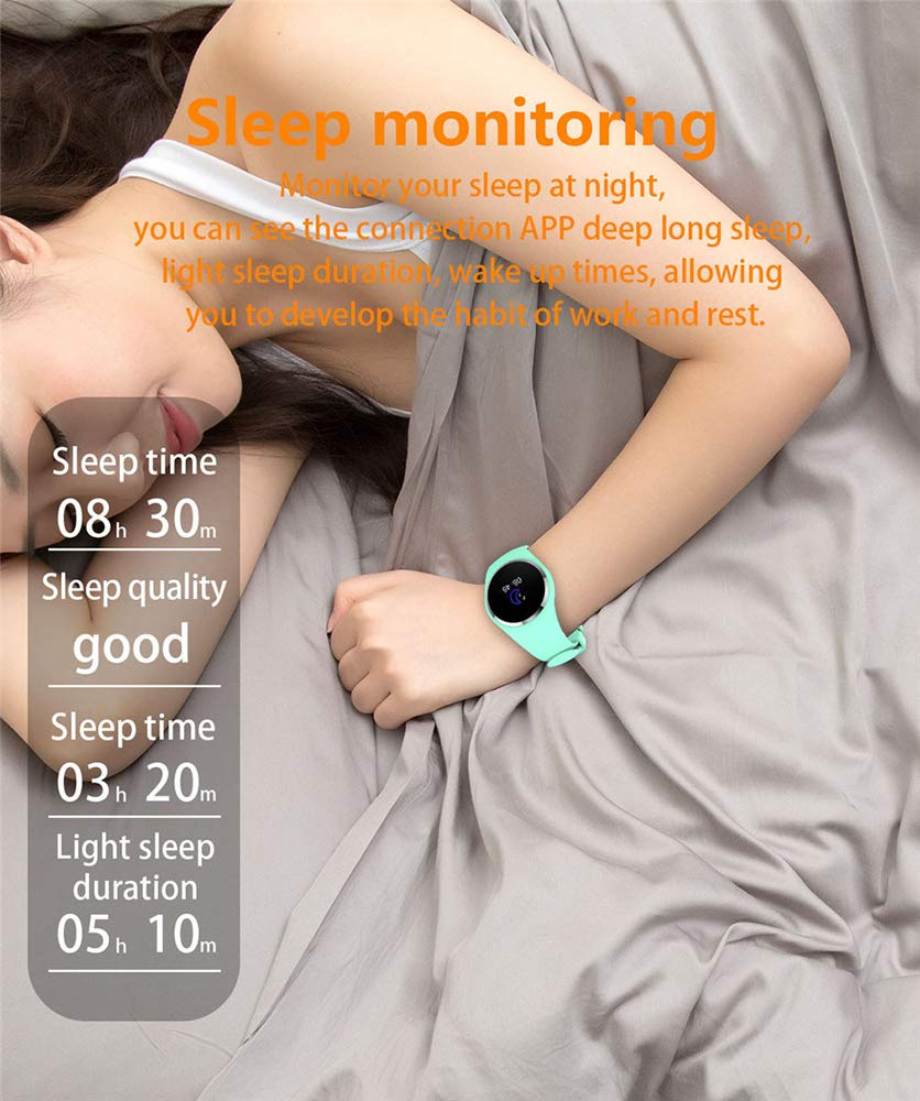 Amazon.com: Smart Watch WoCoo Fitness Tracker Touch Screen GPS Heart Rate Sleep Monitor Fatigue Monitor Bracelet for Android iOS: Kitchen & Dining