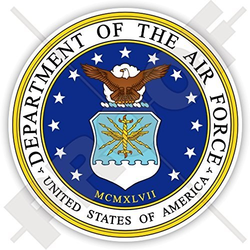 Department Air Force Seal - US DEPARTMENT of the AIR FORCE Seal USA United States DAF USAF America. American 90mm (3.5