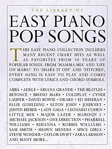 The Library of Easy Piano Pop Songs
