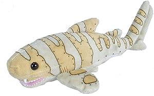 "Wild Republic Zebra Shark Plush, Stuffed Animals, Plush Toy, Gifts for Kids, Sea Critters 11"""