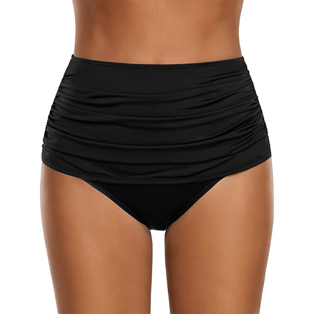 Damen Badeshorts Badehosen schnell trocknende Badehosen Wassersport Shorts Badehosen Anti-UV-Bikini große Zweiteilige Badeanzüge Badeanzug Schwimmen