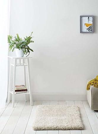 Luxus Creme flauschige Shaggy Teppich – Perfekt für Wohn- und ...