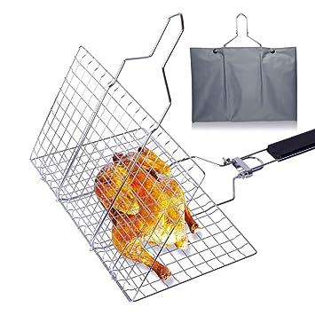 Minions Boutique - Tijeras multifuncionales para Barbacoa (Acero Inoxidable, Tipo grillado, Accesorios para