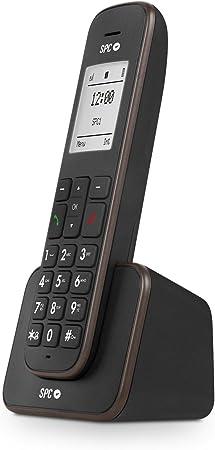 SPC Kaiser teléfono inalámbrico con Pantalla iluminada y Agenda para 150 Nombres: Spc: Amazon.es: Electrónica