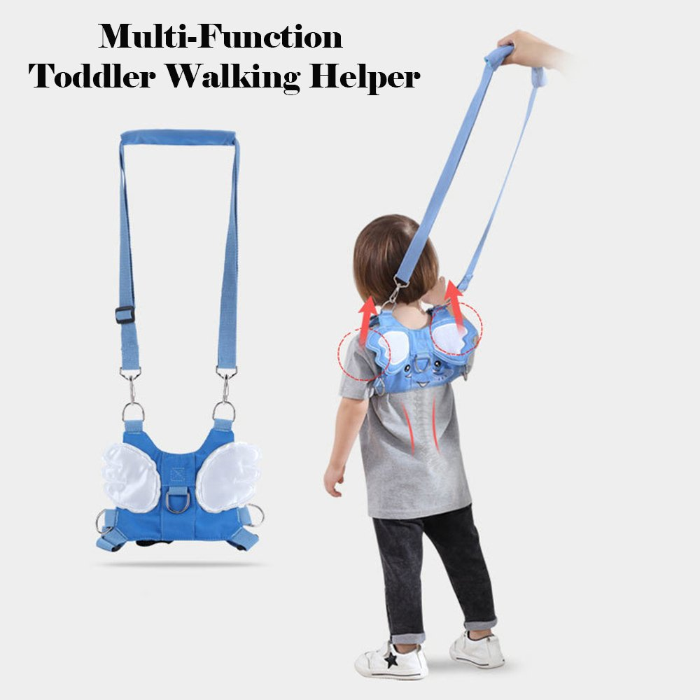 Amazon.com : Mitemix Baby Safety Walking Harness with Leash, Toddlers Anti-Lost Strap Baby Walker Helper Kids Learning Assistant Seat Protective Belt Travel ...