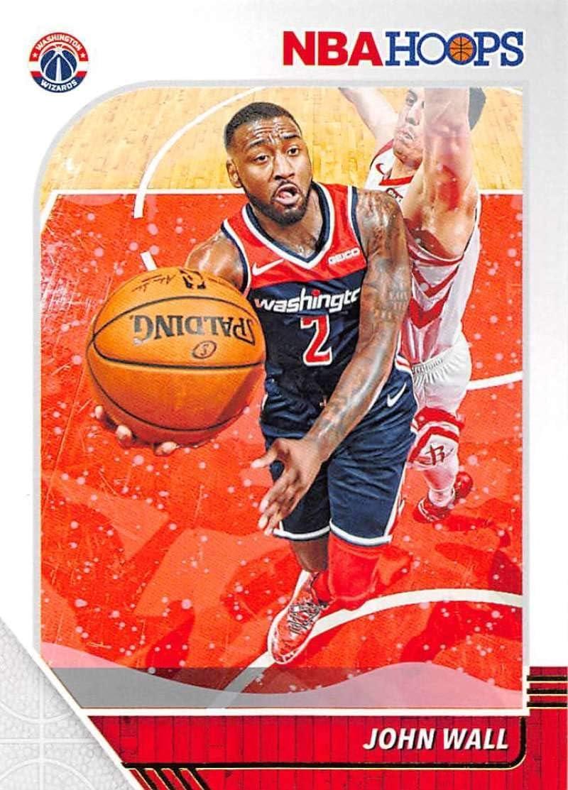 2018-19 Panini NBA Hoops Get Out The Way Winter//Holiday//Christmas #4 John Wall Washington Wizards Official Basketball Card