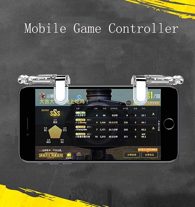 SUNSEATON Controlador de Juegos Móvil, Gaming Trigger Smartphone ...