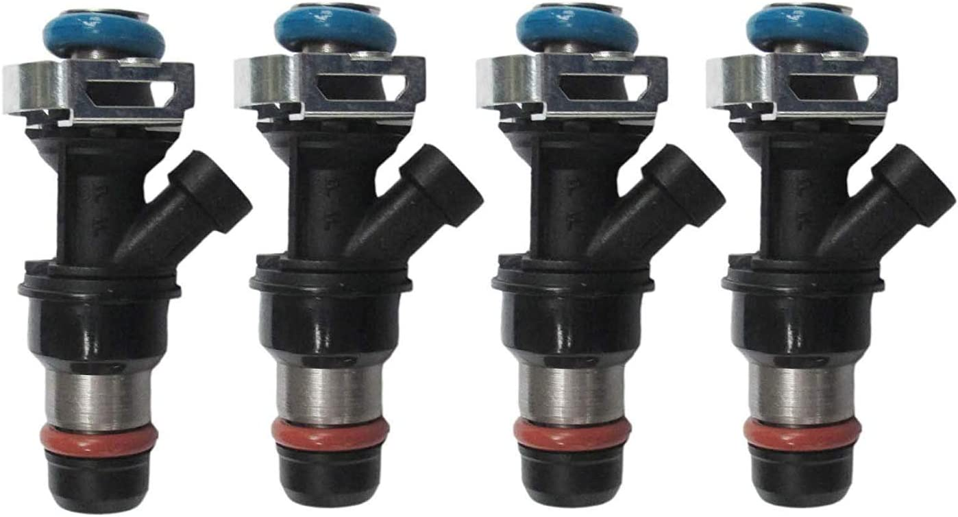 labwork 4Pcs Fuel Injectors Replaces 25325012 Fit for 2000 2001 2002 2003 Chevy S10 GMC Sonoma 2.2L