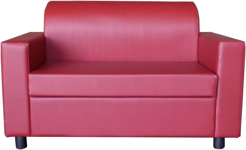 Stil Sedie Poltrona Relax reclinabile Tessuto Manuale Tre Livelli di Posizione Modello Serena Marrone