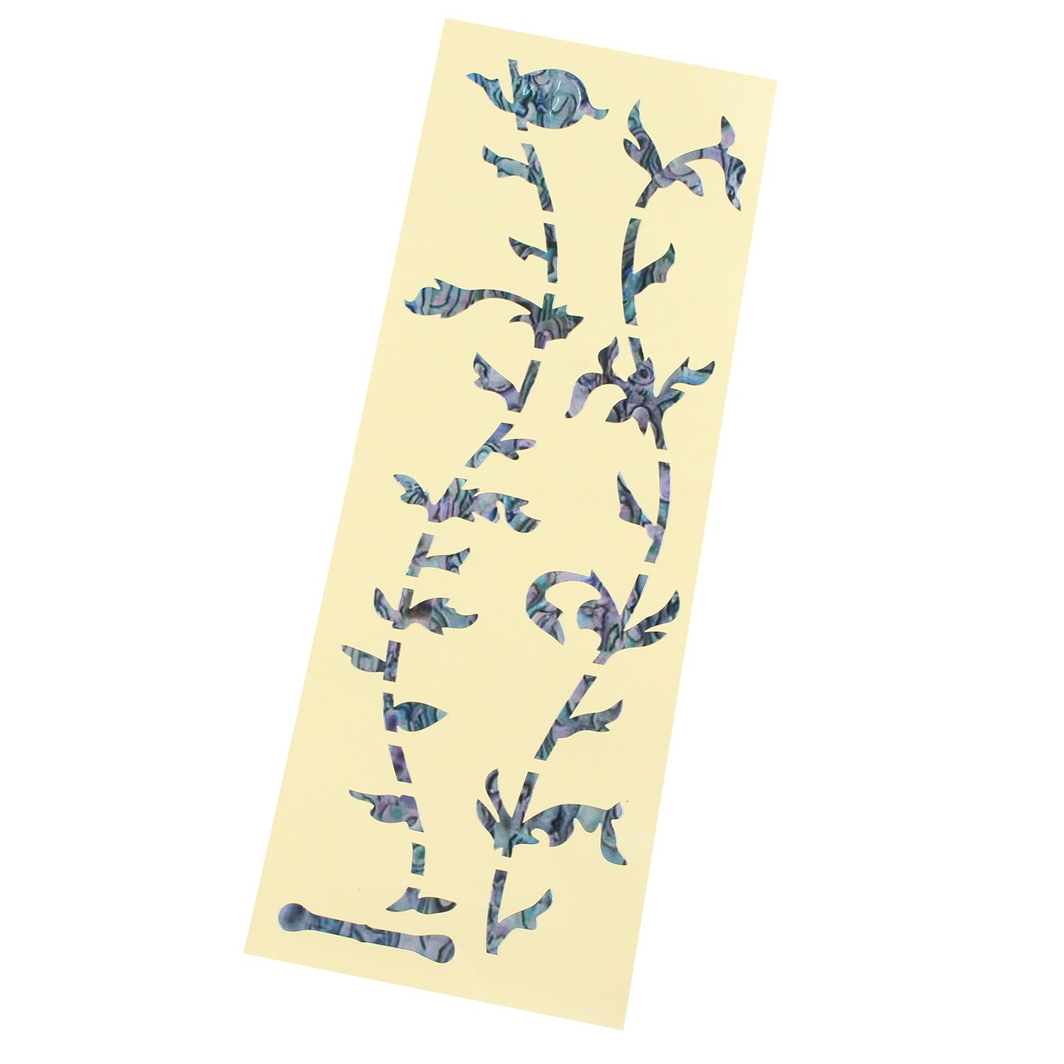 Guitar & Bass Fretboard Inlay Decals Fretboard Markers/Stickers Ultra Thin Green Tree Of Life FUSD