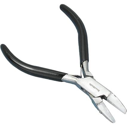 Mordaza de nailon Beadsmith doble cadena Herramienta alicates para alambre doblado